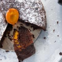 Aprikosen Schokoladen Kuchen