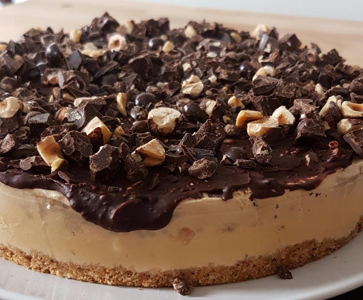 Schokoladen Cappuccino Cheesecake