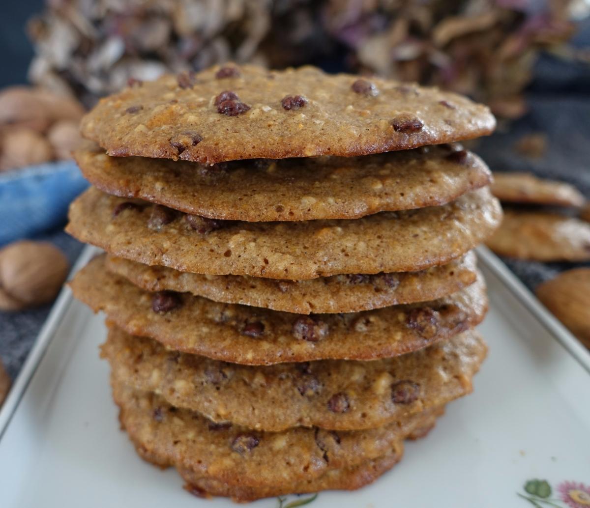 Kürbis Cookies mit Gewürzen