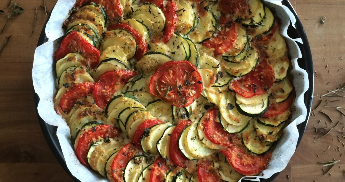 Mediterrane Gemüse Tarte