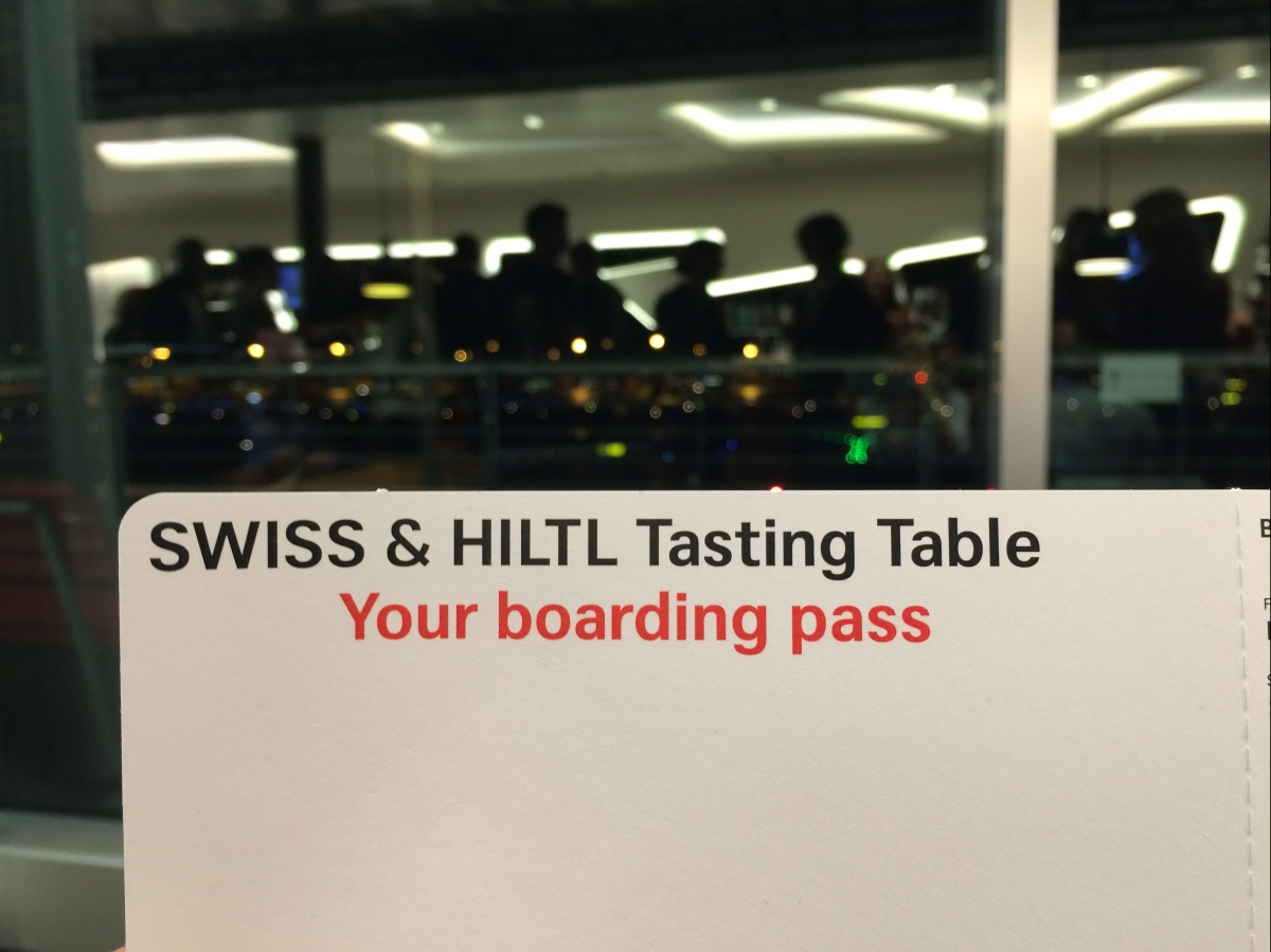 EVENT: SWISS & HILTL Tasting Table
