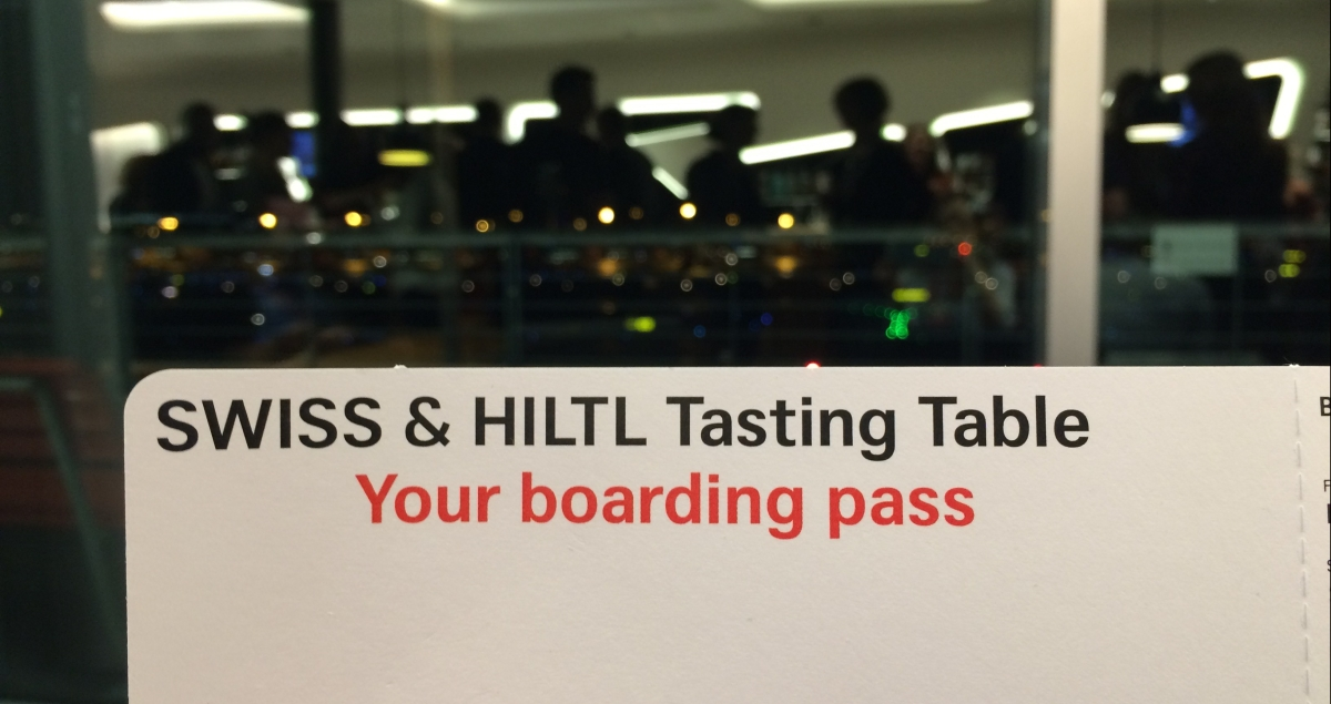 EVENT: SWISS & HILTL Tasting Table