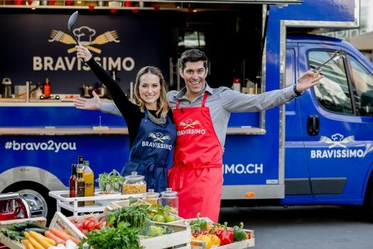 "Schweizer Pasta-Kochshow ""Bravissimo"""