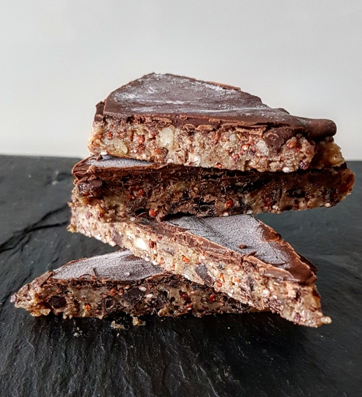 Quinoa Schokoladen Ecken