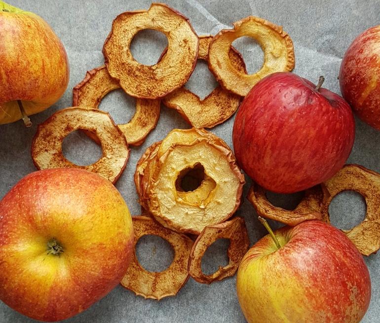 Süsse Apfelringe