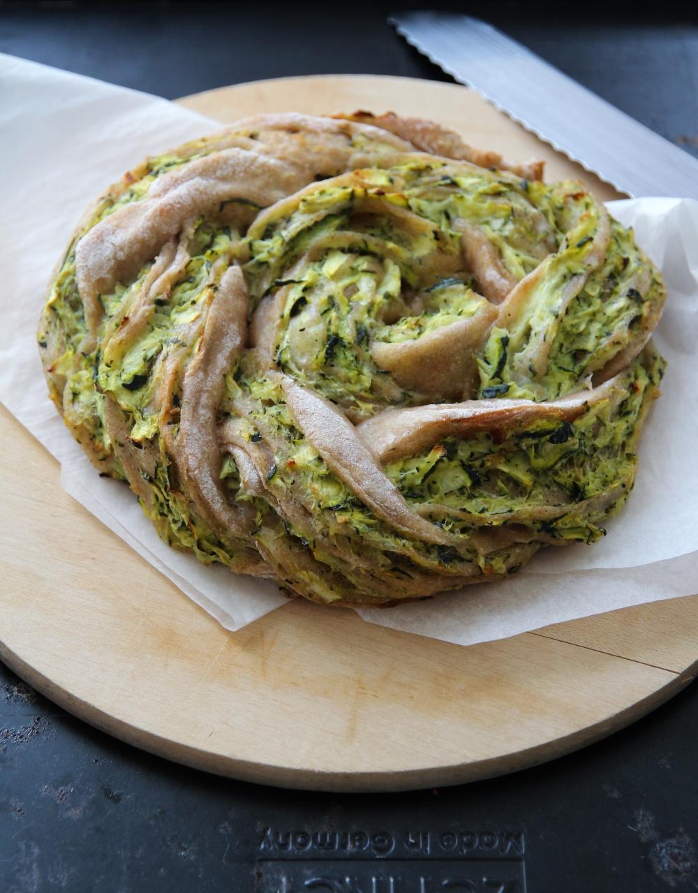Zucchini Kranz