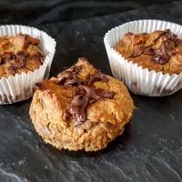 Bananen Bohnen Schokoladen Muffins