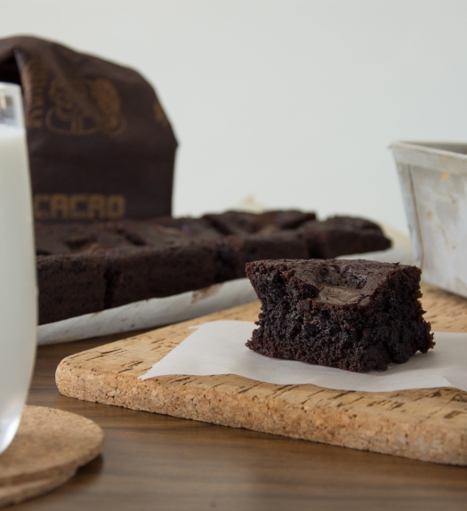 Fudgy Schokoladen Brownies