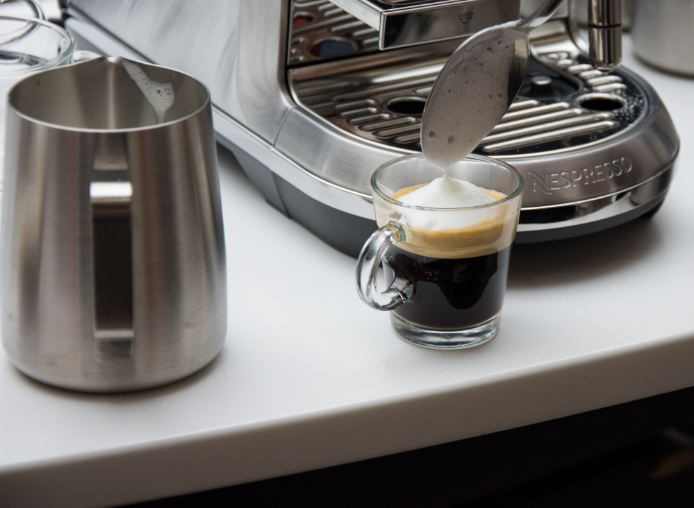 Nespresso Workshop angebissen