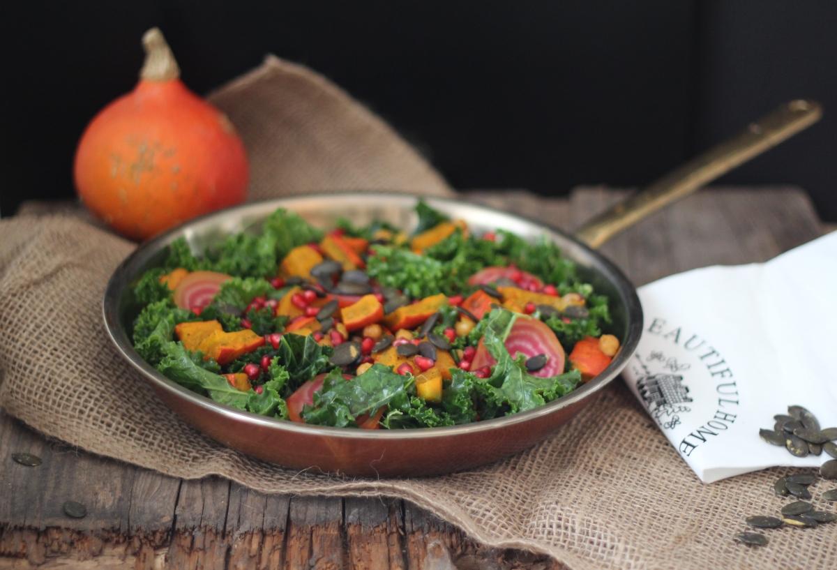 Herbst Salat